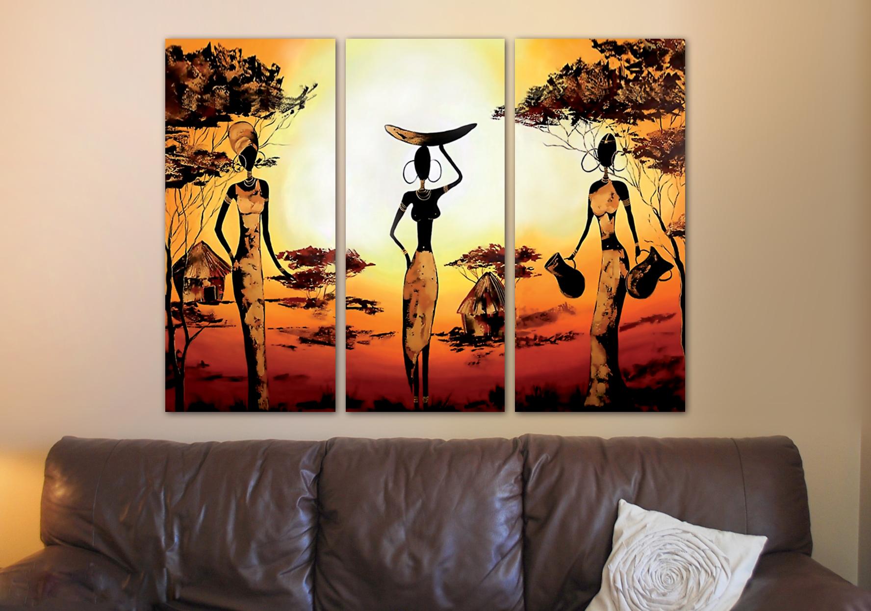 3 negritas grande 1 10m x 70cm cuadros decorativos
