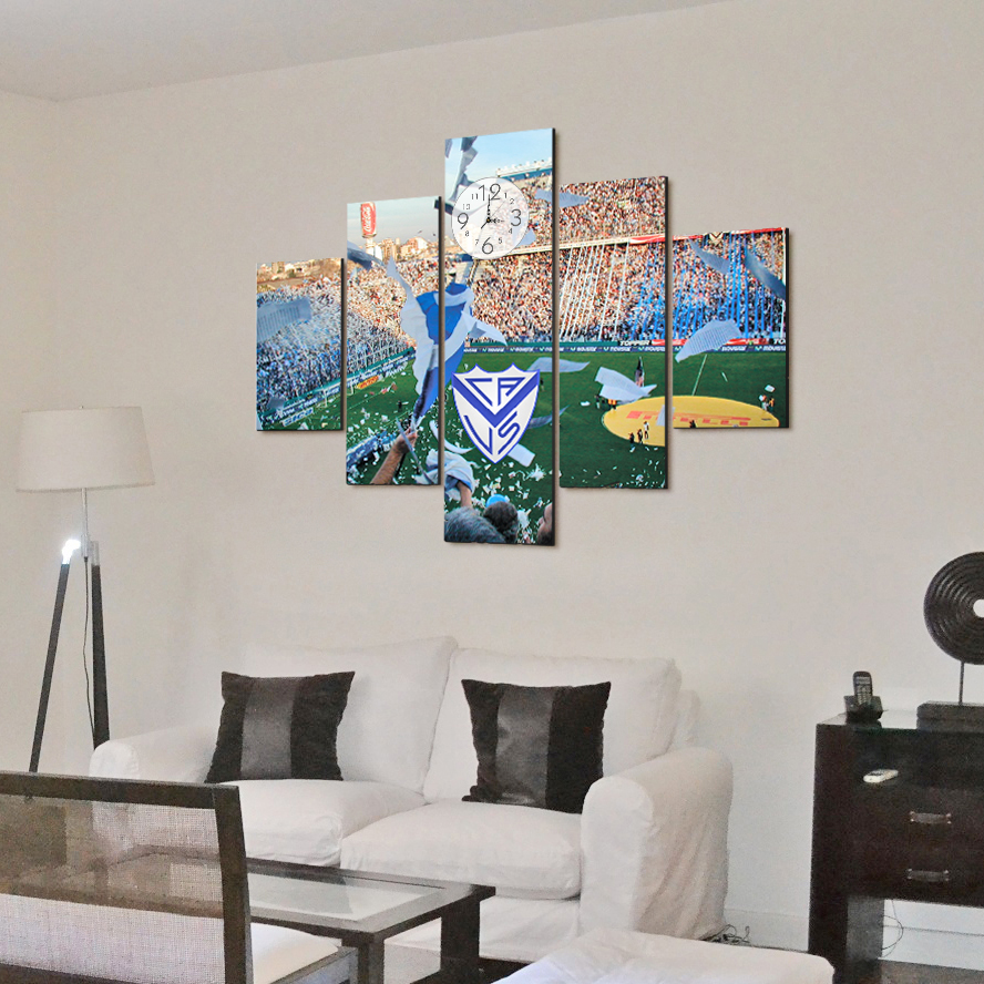 Velez en 5 partes x 70cm cuadros decorativos for Donde puedo comprar cuadros decorativos