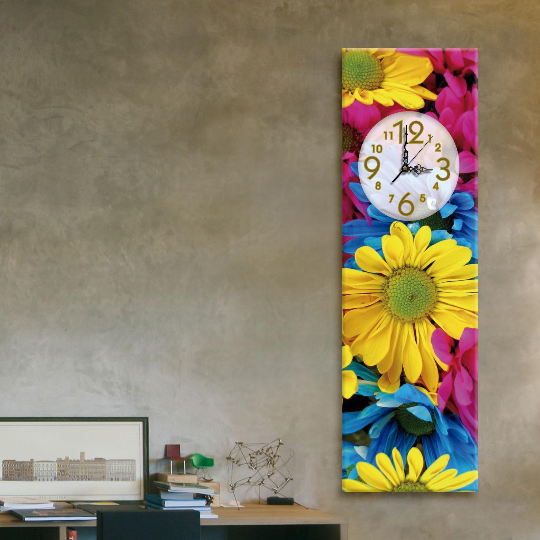 Margaritas vertical 20cmx 70cm cuadros decorativos for Donde puedo comprar cuadros decorativos