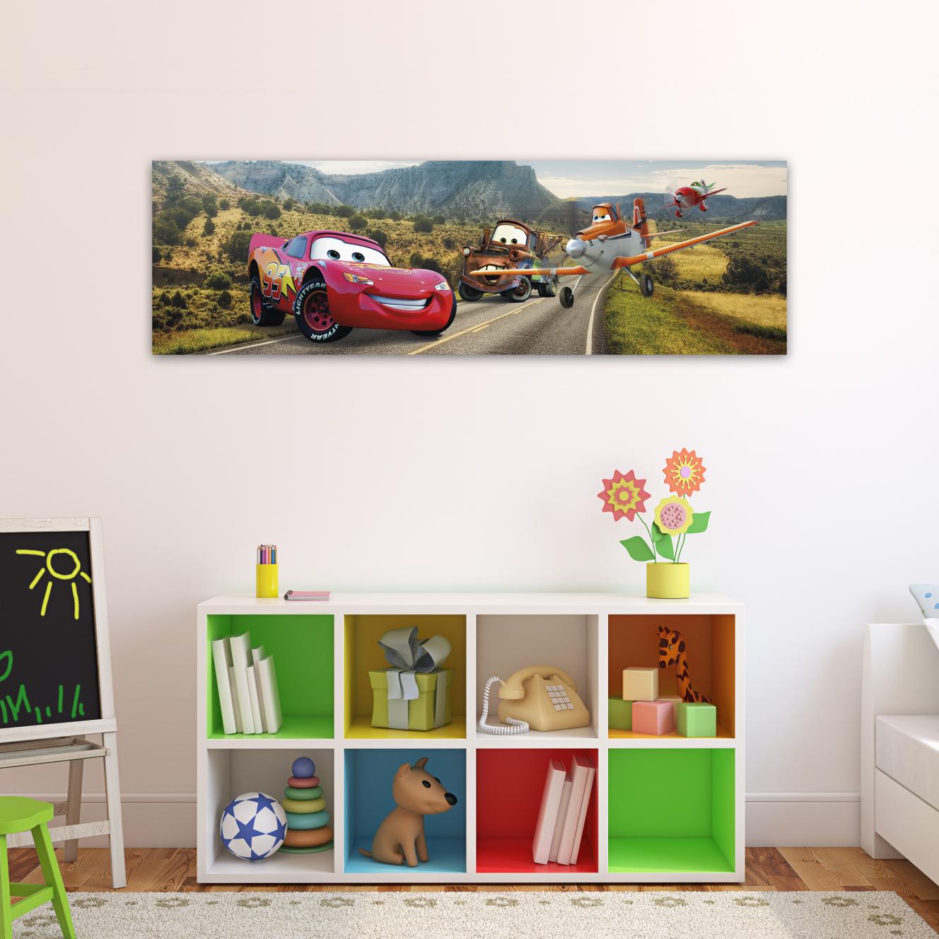 Cars en la ruta entero 70cm x 20 cm cuadros decorativos for Donde puedo comprar cuadros decorativos