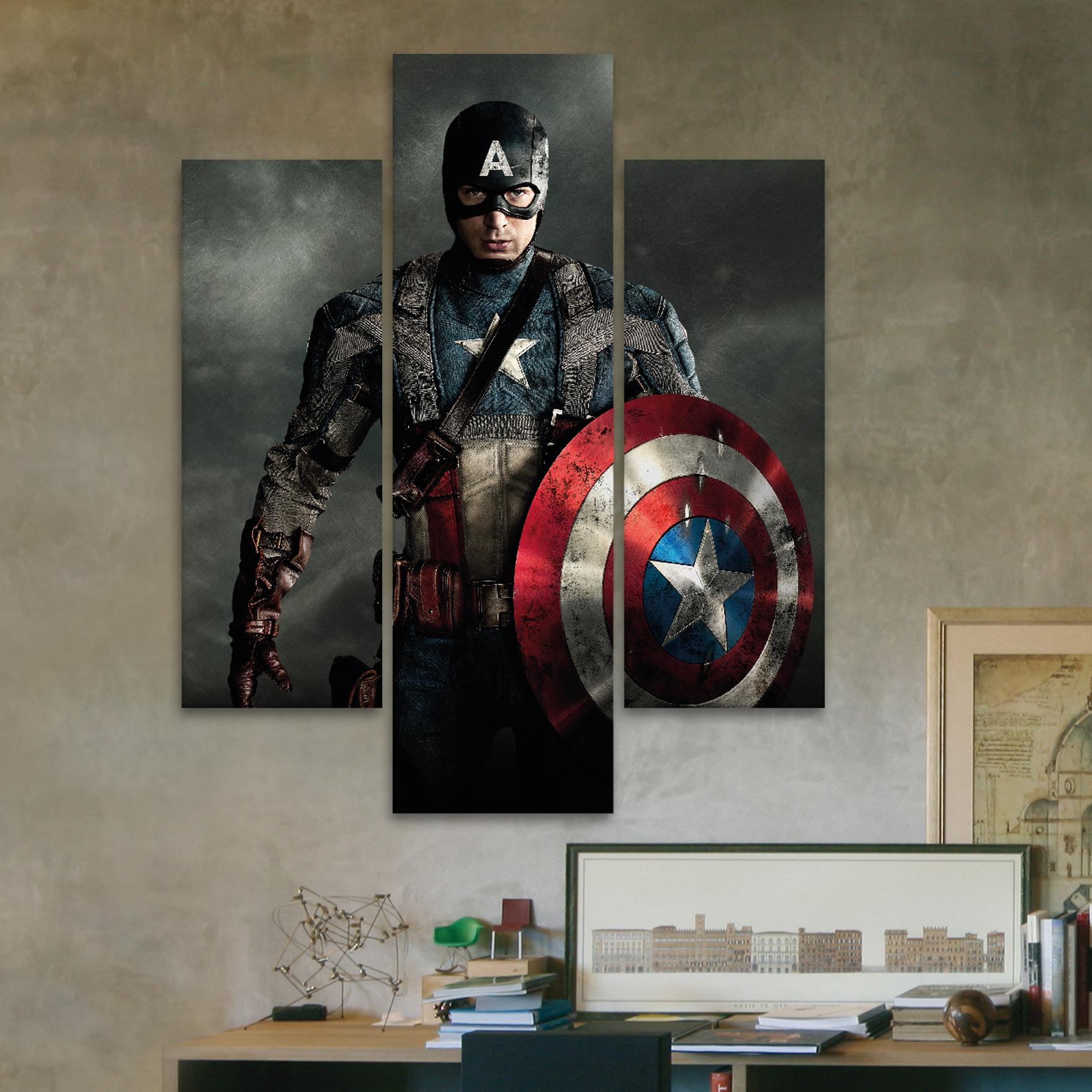 Capitan am rica 80 cm x 70 cm cuadros decorativos for Donde puedo comprar cuadros decorativos