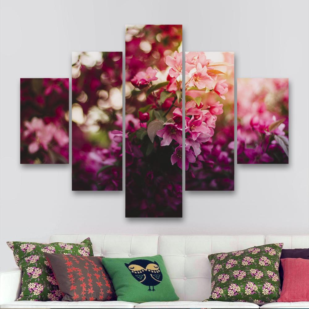 Flores la ni a 110 cm x 70 cm cuadros decorativos for Donde puedo comprar cuadros decorativos