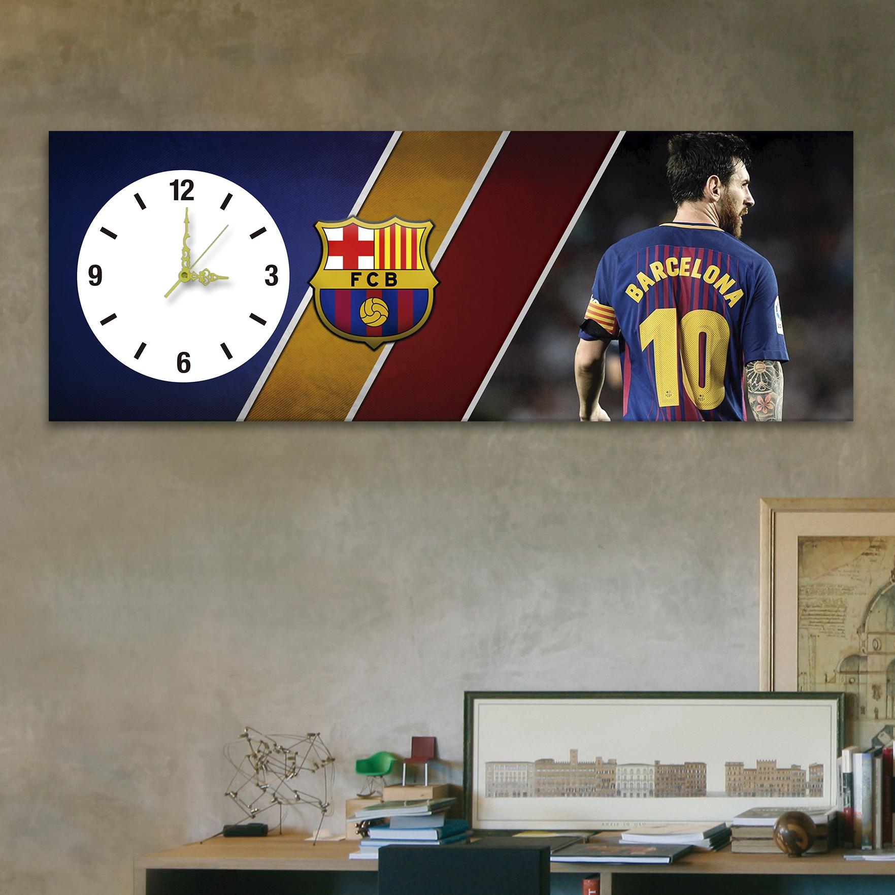 Messi barcelona 24cm x 70cm cuadros decorativos for Donde puedo comprar cuadros decorativos