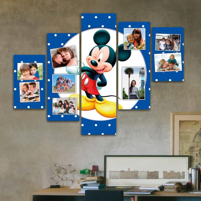 Cuadro Familiar a Pedido - Mickey (110 cm x 70 cm)