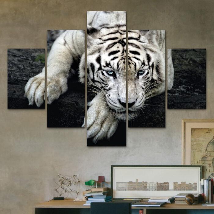 Tigre Tranquilo (110 cm x 70 cm)