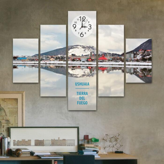Ushuaia - Espejada (110 cm x 70 cm)