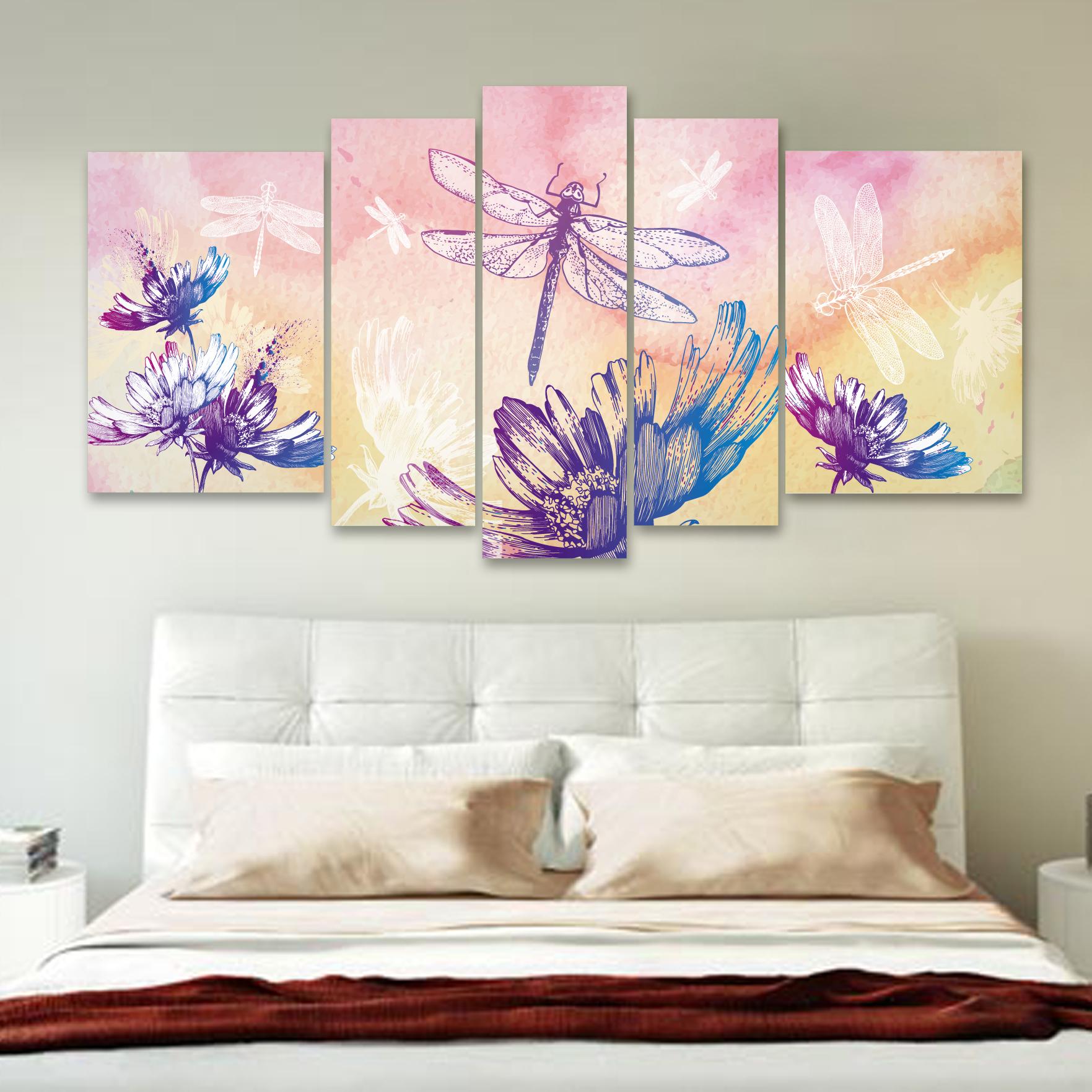 Lib lulas en flor 150 cm x 70 cm cuadros decorativos for Donde puedo comprar cuadros decorativos