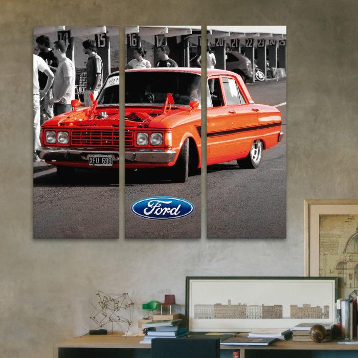 Ford Falcon (60 cm x 50 cm)