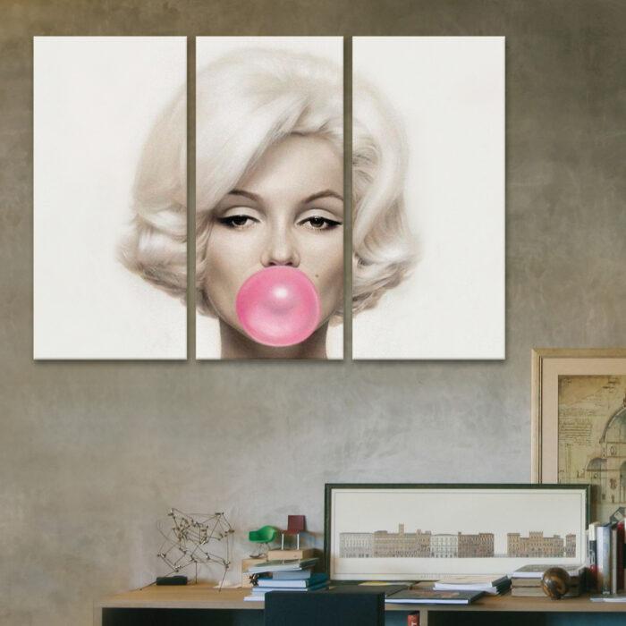 Marilyn con Globo (110 cm x 70 cm)