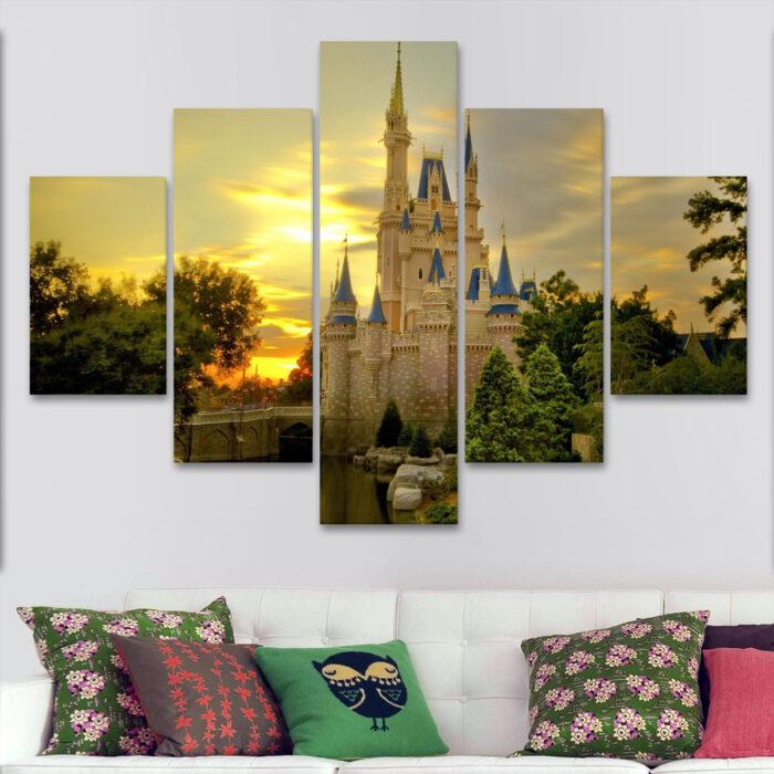 Castillo de Disney de Día (110 cm x 70 cm)