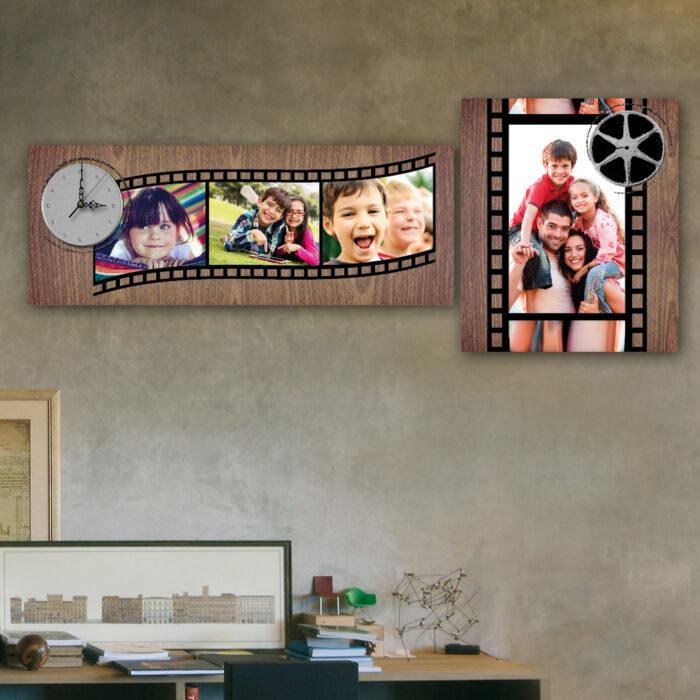 Cuadro Familiar Cine ( 70 x 24 cm + 40 x 35 cm)