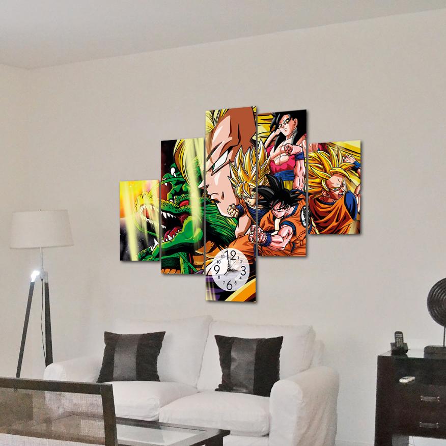 Dragon ball goku transformaciones 1 10 m x 70 cm for Donde puedo comprar cuadros decorativos