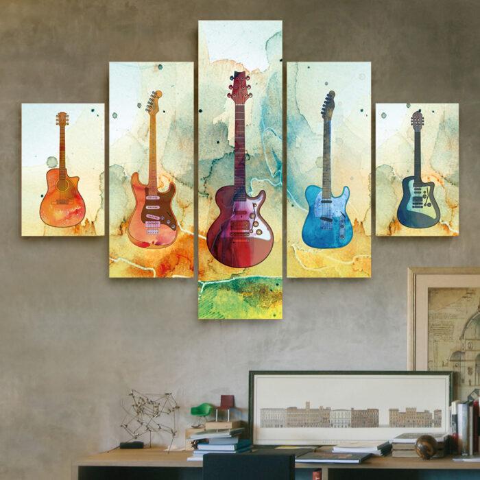 Guitarras (110 cm x 70 cm)