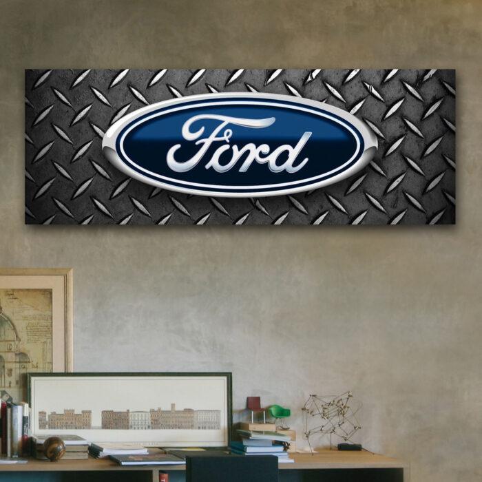Ford Logo (24cm x 70cm)