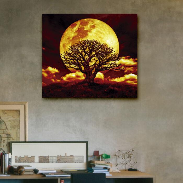 Luna Llena (40cm x 35cm)