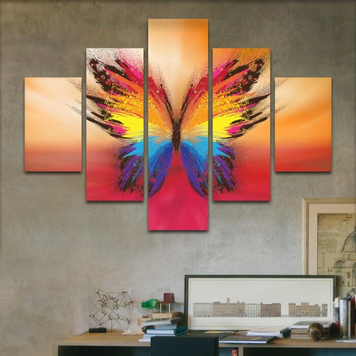 Mariposa Estelar (110 cm x 70 cm)
