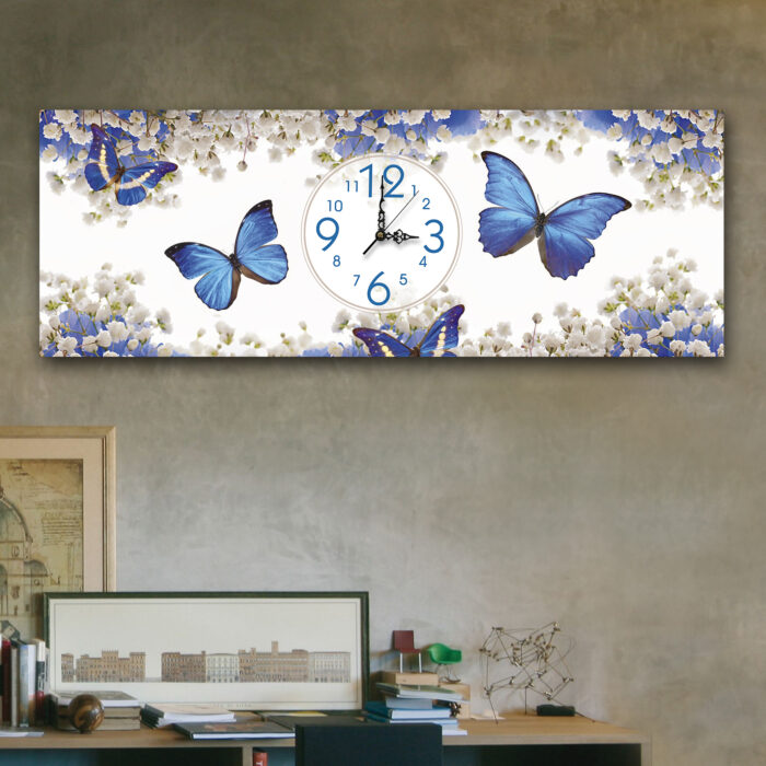 Mariposas Azules (24cm x 70cm)