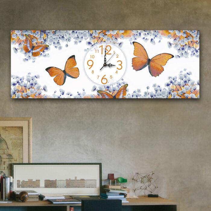 Mariposas Naranja (24cm x 70cm)