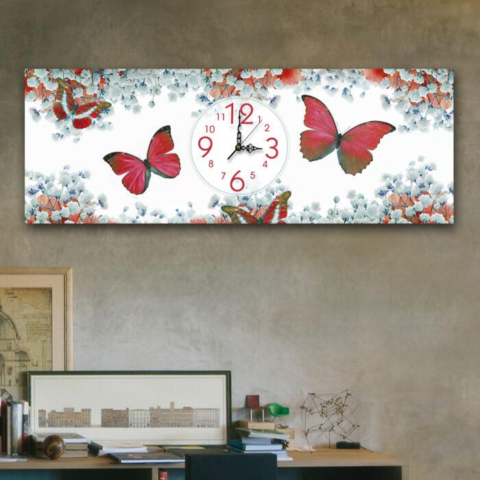 Mariposas Rojas (24cm x 70cm)