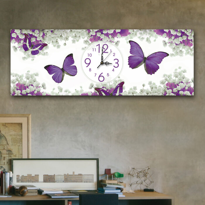 Mariposas Violeta (24cm x 70cm)