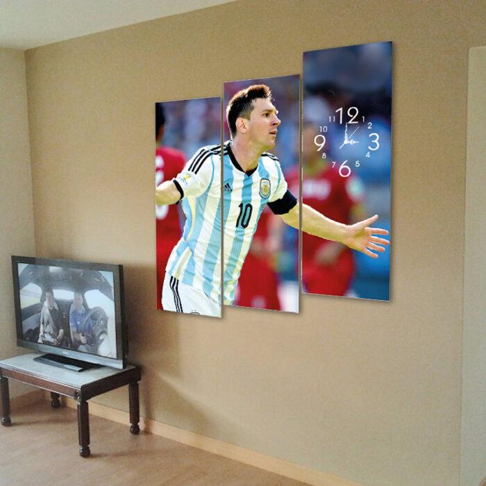 Messi (80cm x 90cm)