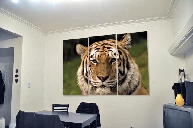 Mirada de Tigre (1,10M x 70cm)