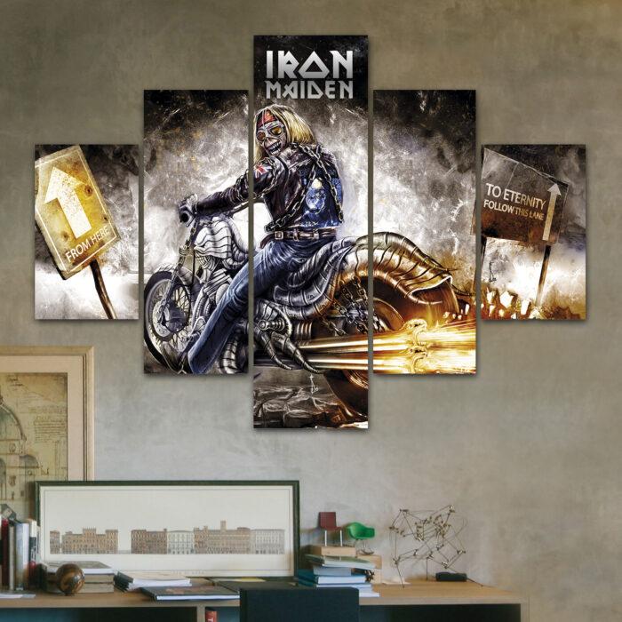 Iron Maiden (110cm x 70cm)