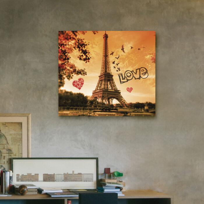 Paris Love (40cm x 35cm)