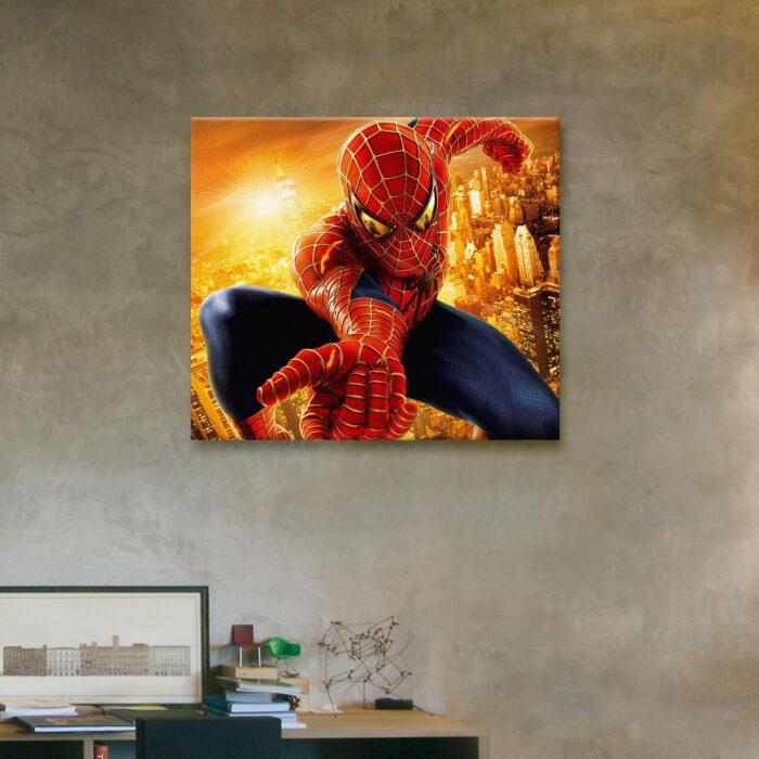Spiderman por la Ciudad (35cm x 40cm)
