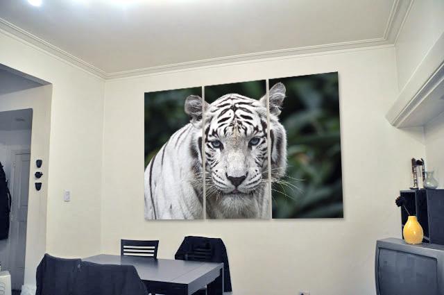 Tigre de Bengala Cercano (1,10M x 70cm)