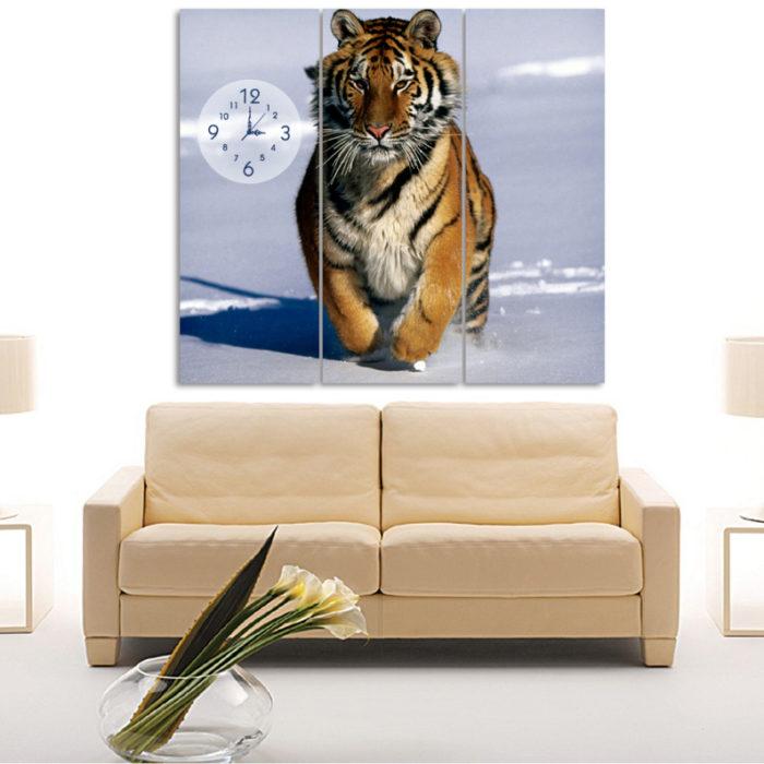 Tigre Corriendo (1,10M x 70cm)