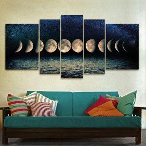 Fases Lunar XXL (150 cm x 70 cm)