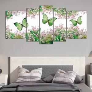Mariposas Verdes – XXL (150 cm x 70 cm)