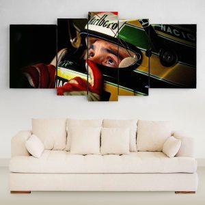 Ayrton Senna Mirada XXL (150 cm x 70 cm)