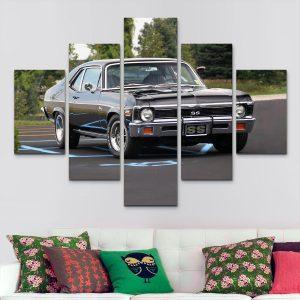 Chevy Negra – Chevrolet (110 cm x 70 cm)
