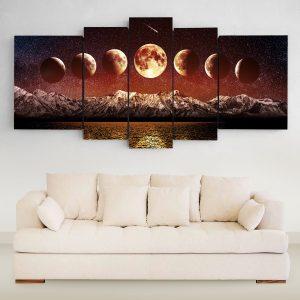 Lunas Rojas XXL (150cm x 70cm)