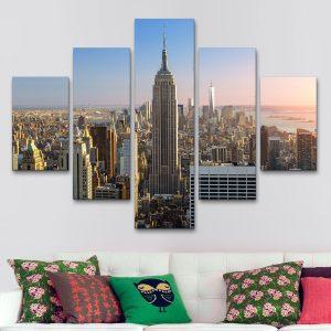 New York – Skyline (110 cm x 70 cm)