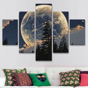 Luna Alpina (110 cm x 70 cm)