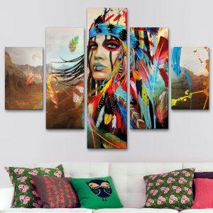 India Apache Colorida (110 cm x 70 cm)