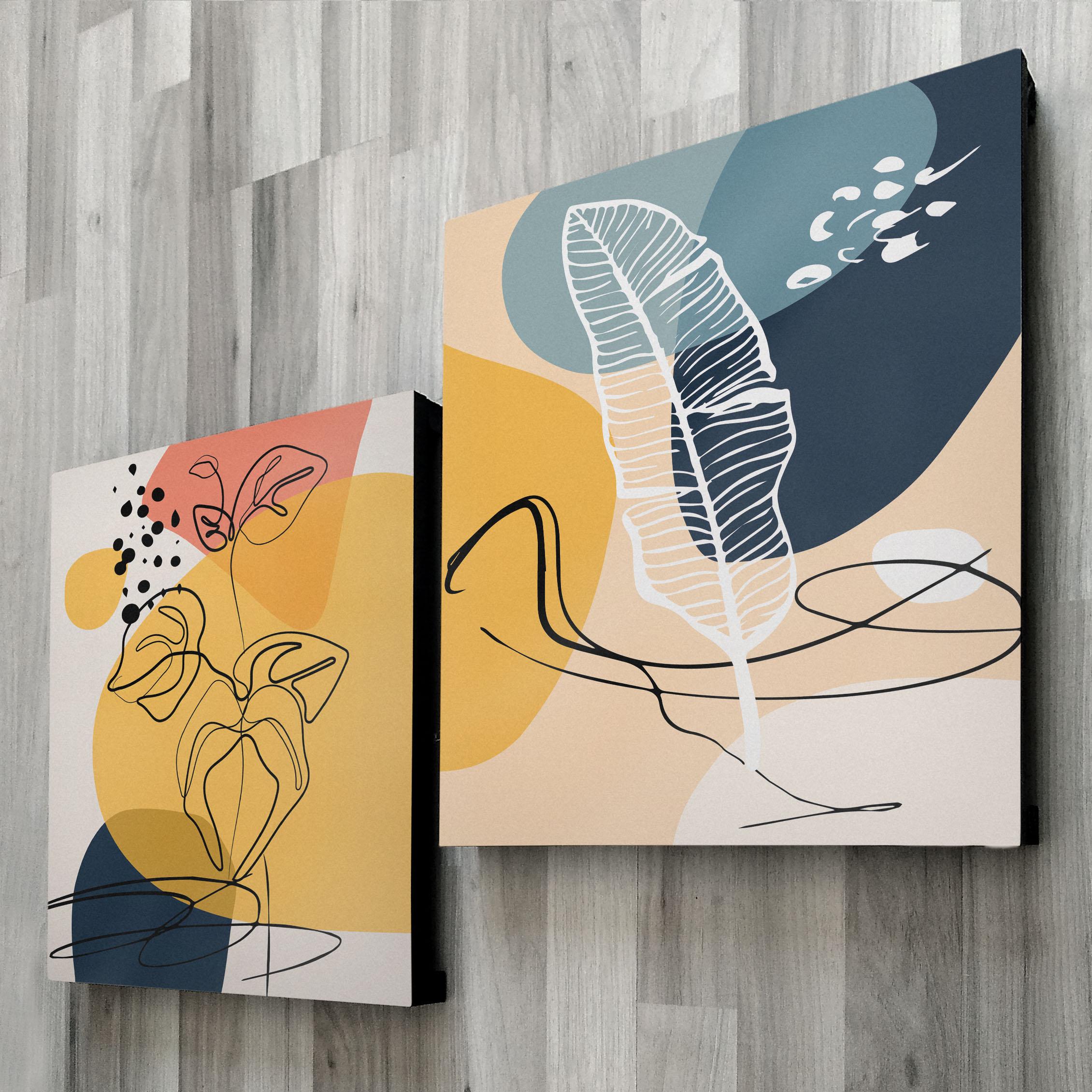 Abstractos Modernos 603 + 602